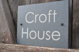 Design a House Sign: House Signs & House Numbers